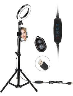 Selfie Light Ring and tripod---- 2 in 1