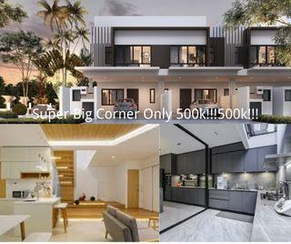 Super Cheap Freehold double storey only 400k🔥🔥🔥and Cash Rebate 10k~80k💰💰💰