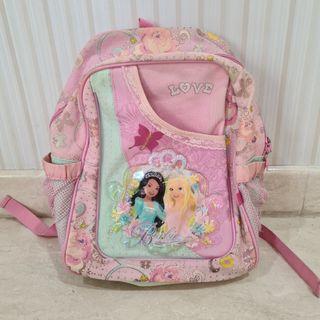 Tag Ransel Backpack Barbie Bag Pink