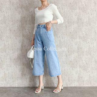 Wide jeans jessa coll