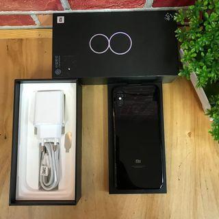 Xiaomi Mi 8 6/128GB Black Fullset Original