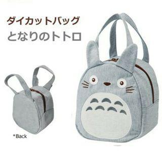 100%日本正貨 宮崎駿 龍貓便當袋 豆豆龍 日本郵局限定龍貓包 保溫袋 手提袋 雜貨袋 便當袋 #防疫