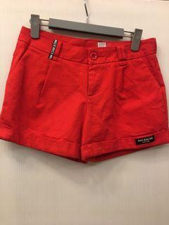 #2621斜紋彈力短褲