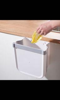懸掛式可折疊垃圾桶(廚餘桶)