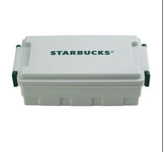 星巴克便當盒 薄荷綠