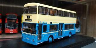 P&T 巴士模型 中巴 中華巴士 CMB Daimler Fleetline DMS Coach FC 1 11A(灣仔碼頭)1/76
