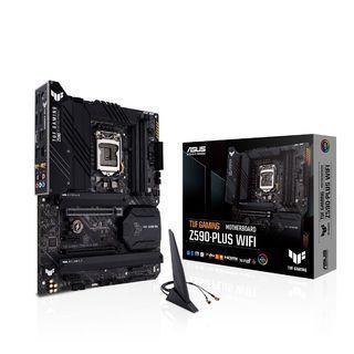 免運 華碩TUF GAMING Z590-PLUS (WI-FI) (ATX/1H1P/Intel LAN/WIFI6+BT5.1/五年保固)