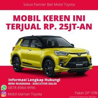 All New Toyota Raize G & GR Sport Non TSS Unit Ready Bulan Juni