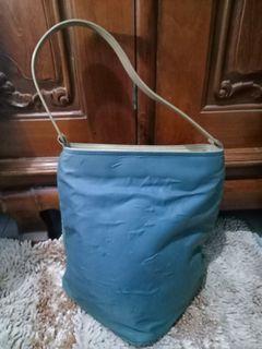 Authentic Lancel Nylon Bag