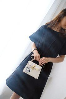 BLACK RUBBER DRESS