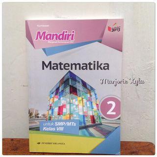 Buku Mandiri Matematika SMP/MTS kelas VIII K13 Edisi Revisi 2016
