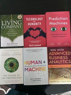 6 Business  & Technology book pack
