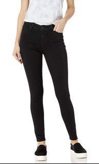 Celebrity Pink Black Mid Rise Ankle Skinny Jeans