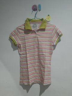 Colorful polo shirt
