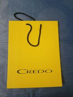 Credo Paper bag $10 only excellent condition