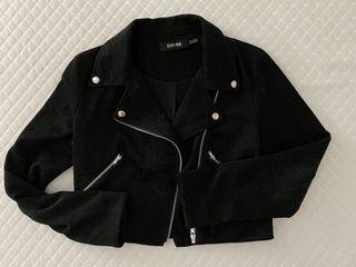 DO+BE black sparkle jacket