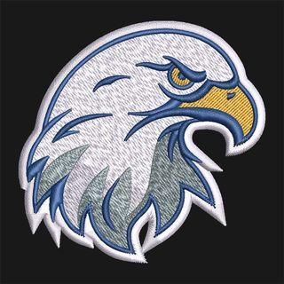 Embroidery Design: Mighty Eagle Face