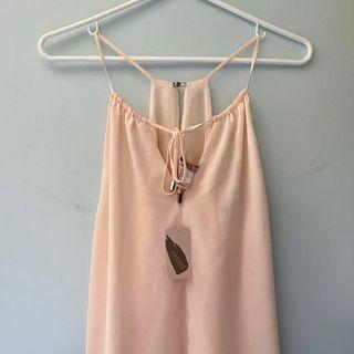 BNWT - forever 21 tank with front tie detail