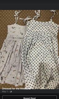 Girls Toddler String Dress Set