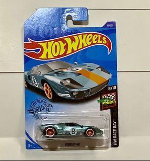 Hotwheels 2020 Super Treasure Hunt Ford GT-40 Gulf