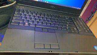 i7-2640M Dell precision M4600 Laptop workstation, 8GB DDR3 ram,120GB+240GB SSD win 10 pro Original