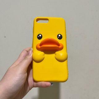 Iphone 7 plus silicone duck case