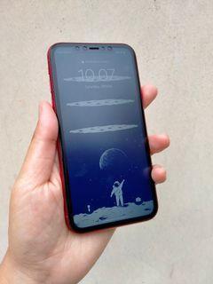 LIKE NEW! iPhone 11 Red Edition 256GB Dual Sim [Ex Garansi Inter]