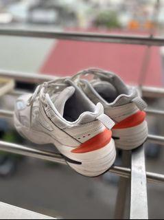 nike m2k Tenko 米白橘 女鞋 二手 us7 24cm