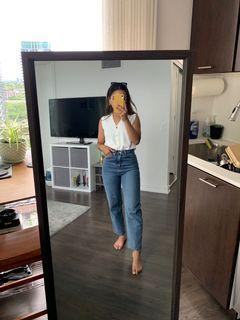 Oak + Fort straight leg jeans