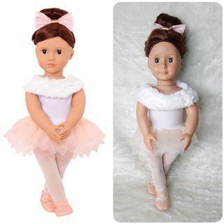 Our Generation Battat 18 Ballet Doll Valencia