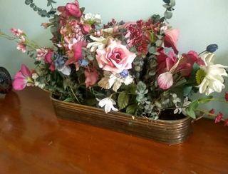 Silk flowers bouquet