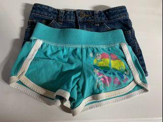 Size 4/5 kids shorts