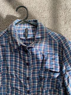 Twin Lakes plaid shirt