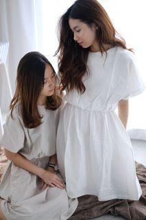 WHITE RUBBER DRESS