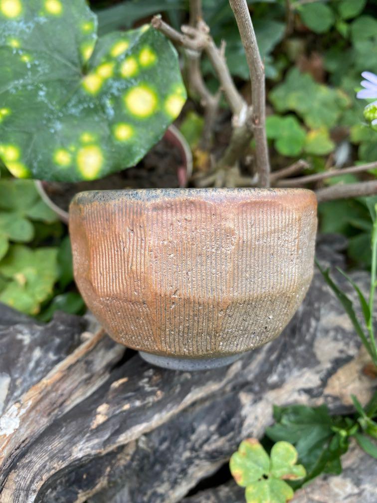 柴燒手捏-不太圓系列茶杯1100502啟