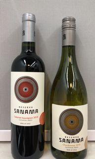 智利紅白酒(1套2支)