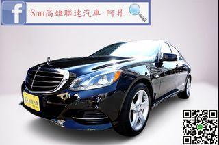 🚗2014年式 M-Benz E350 Sedan 3.5