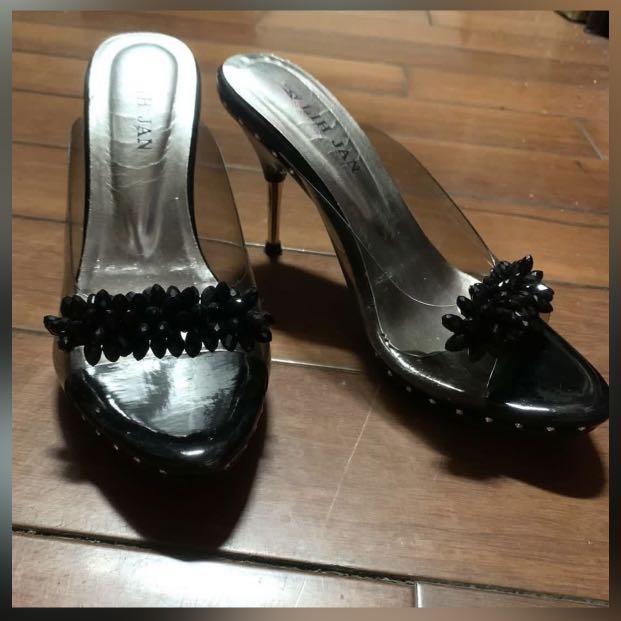 ♥️24h出貨、細跟高跟鞋、細跟涼鞋、高10cm#我媽的