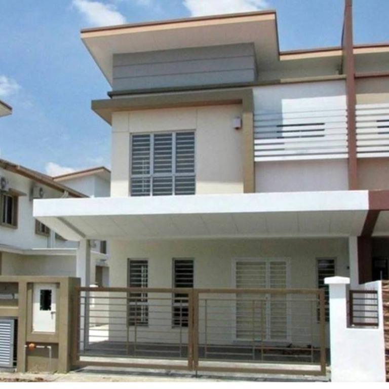 2-Storey Link HOUSE , 4bed4bath Rumah Teres 22X75