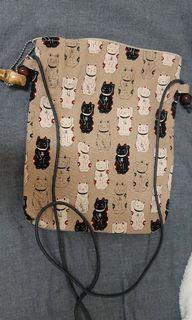 日本招財貓手提包