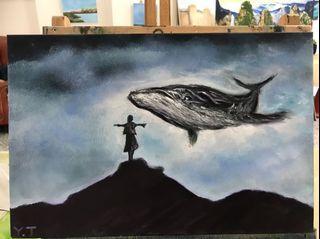 天空中的鯨魚