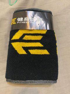 健身工廠 純棉運動毛巾