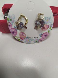 全新 耳環 3組$100 晶鑽 珍珠 貝殼 海星