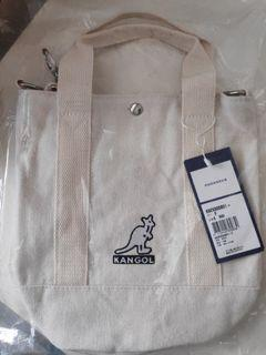 KANGOL 袋鼠 手提袋 手提包 側背包 協背包 兩用 帆布包