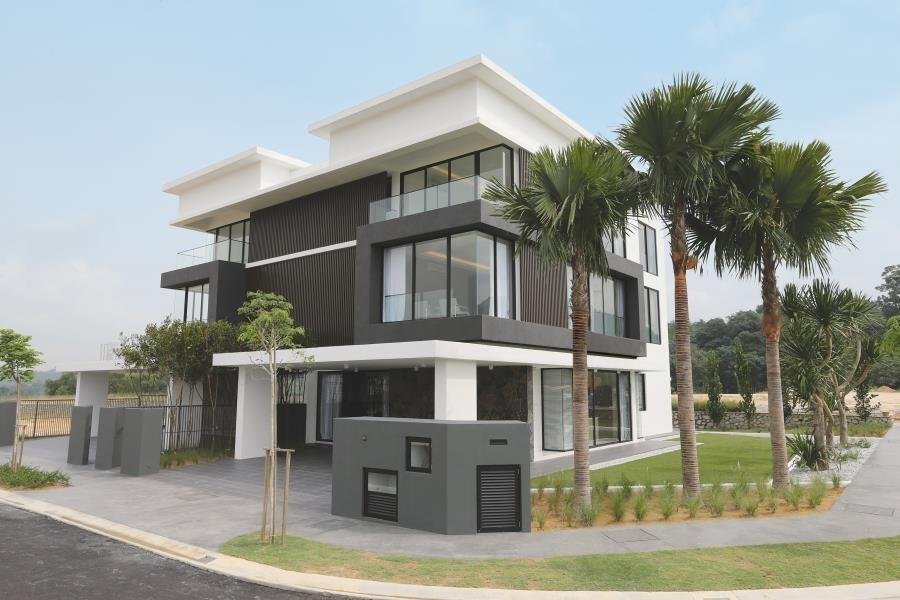 AMPANG [BANGALOW CONCEPT] 22X85 SUPERLINK HOUSE GREENERY ENVIRONMENT, GATED & GUARDED