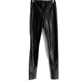 aritzia wilfred daria leather pant