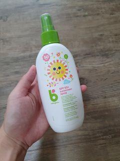 Babyganics SPF50 suncreen spray