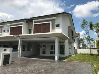 BALAKONG CORNER ONLY RM500K!!! FREEHOLD NEW DOUBLE STOREY 25X85 CASHBACK RM50K, GATED & GUARDED