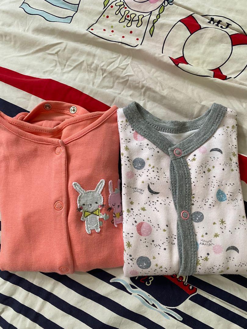 Bundling Sleepsuit Mothercare Velvet Junior 3mo