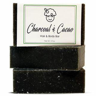 Charcoal & Cacao Soap